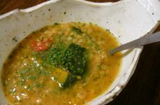 10分煮るだけレンズ豆と南瓜のスープ