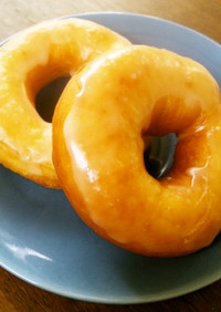 簡単材料♪ふんわりドーナツ