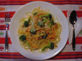 サーモン&カラフル野菜のハーブパスター
