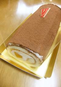 ロールケーキ♪ティラミス風味