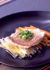 レンジで京風蒸し魚
