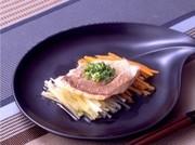 レンジで京風蒸し魚の写真