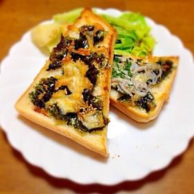 ◇アレンジ海苔チ〜トースト