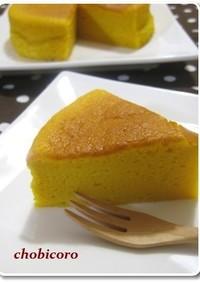 ノンオイル♪かぼちゃのスフレケーキ