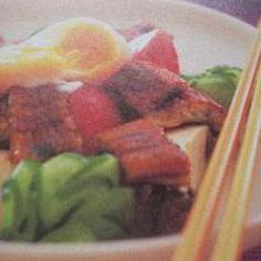☆うなぎと豆腐の和え物アジアン風☆