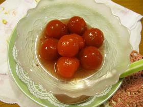 プチトマトのぶどうシロップ漬け