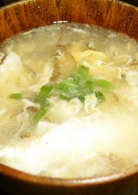 市販のもずく酢でかき玉もずくスープ♪