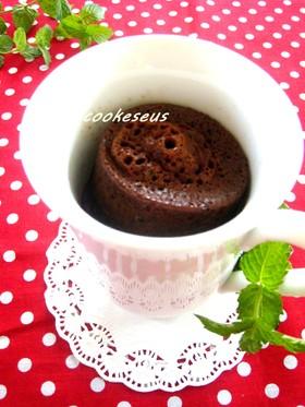 マグカップでモカチョコケーキ