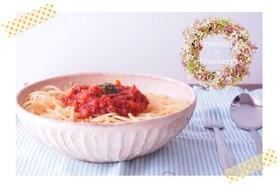 *トマトと野菜たっぷりのミートソース*