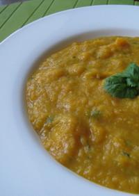 人参と香草のスープ