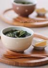 モロヘイヤとゴーヤのスープ