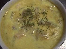 カブのカレースープ