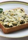 おやつ・朝食に★簡単!高菜トースト