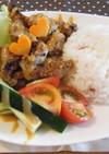 カリカリ豚のにんにく味噌マヨプレート