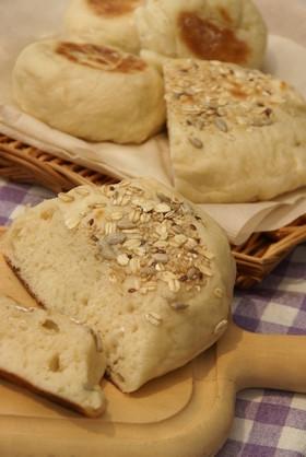 フライパンで作る簡単手作りキャンプパン