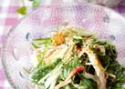 水菜の柚子胡椒マヨ和え