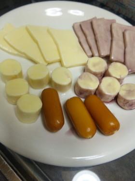 チーズのワイン漬け♪