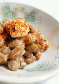 *からしマヨ納豆~七味かけ~*