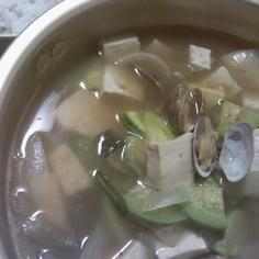 テンジャンチゲ(味噌チゲ)☆韓国料理☆