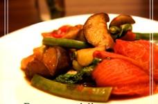 ✿夏野菜の温タパス✿ビネガー風味、15分
