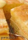卵不使用。コーンミールパンケーキ。