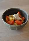 ひよこ豆と豚モモのトマト煮込み