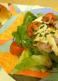 バルサミコ酢の簡単サラダドレッシング