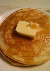 ホットケーキ【豆乳であっさり】