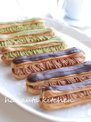 チョコレートエクレアの写真