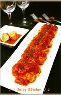 肉巻きキャベツのトマト煮
