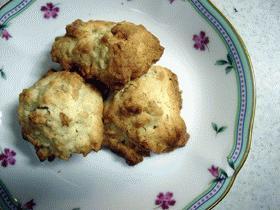 メイプルシロップとくるみのクッキー