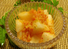 梨とキムチのおつまみ(カクテキもどき)