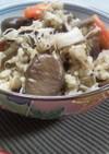 ✿貝柱ときのこ、緑玄米の栗ご飯✿