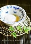 冷蔵庫の冷たい卵de温泉卵の作り方