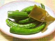 シンプルな、胡瓜の塩漬け♡の写真