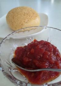 完熟トマトのトマトジャム♪