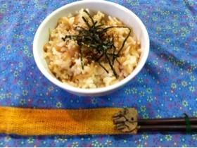 残り物切り干し大根の煮物で炒めご飯☆