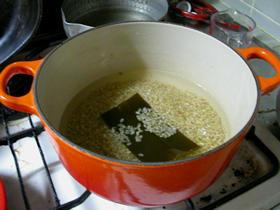 マクロビオティック基本の玄米ごはん