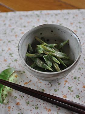甲子豆の胡麻和え