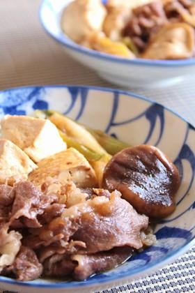 簡単♪肉豆腐