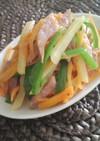 シンプル♪細切り野菜のコンソメ炒め