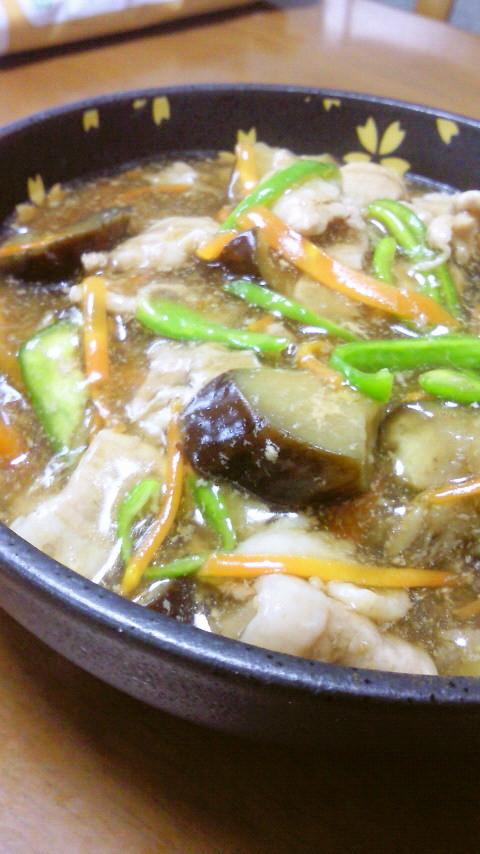 茄子と豚肉のトロトロ煮♡