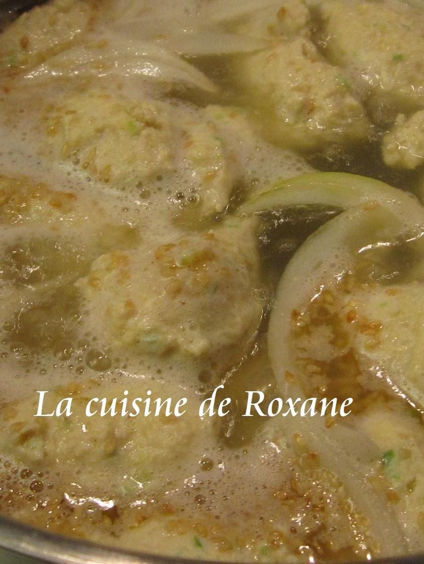 塩ちゃんこ鍋のスープとつくねの作り方