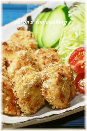✿鶏胸肉の粒マスタードマヨ*パン粉焼き✿