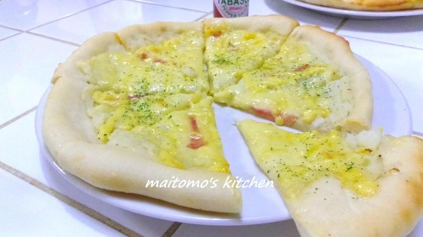 コストコ マッシュポテト使用のピザ