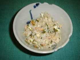 鮭高菜チャーハン