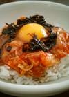 キムチ丼風♥卵かけご飯