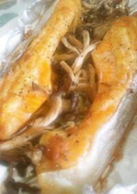 トースターで!鮭のマヨネーズ焼き
