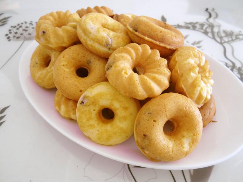 HKMでレーズンヨーグルトの焼きドーナツ