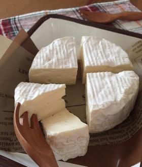 カマンベールチーズを切ろう✂
